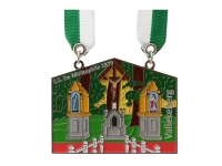 Emaille medaille 10
