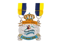 Emaille medaille 14